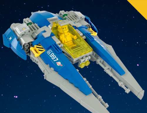 I went and did it: LL-997 Viper on LEGO Ideas